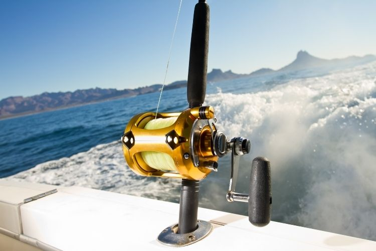 Different Types of Fishing Reels - Trolling Reels