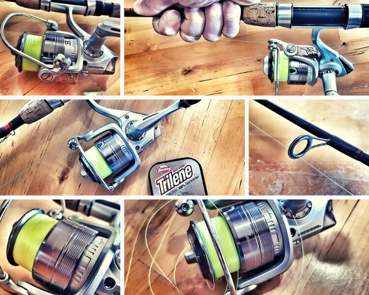 How to Correctly Use Spinning reel - Guide - Put new Line on Fishing Reel
