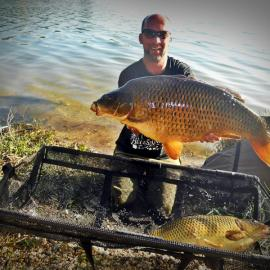 Jale CARP, fishing, double run